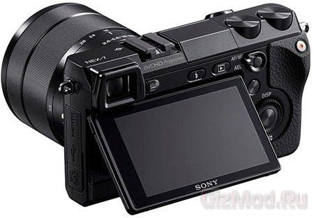 Беззеркалка Sony NEX-7 со сменным объективом