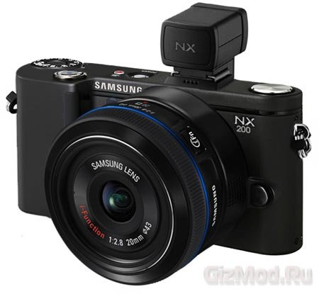 20 Мп беззеркалка Samsung NX200