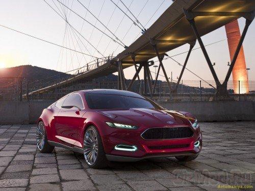 """Ford Evos сделает """"это"""" за вас"""