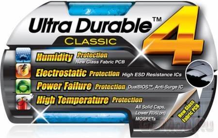 У GIGABYTE созрела технология Ultra Durable 4