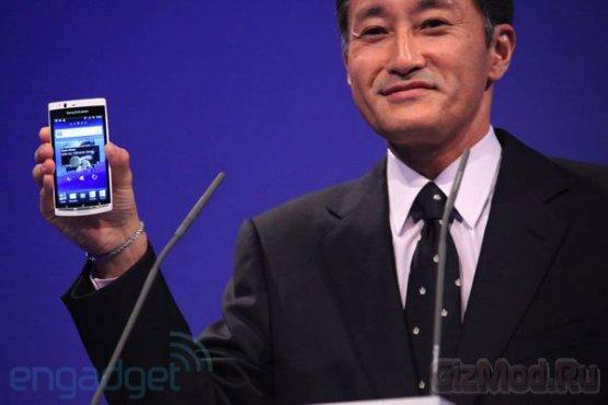 Sony Ericsson обновила Xperia arc