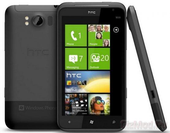 Mango-смартфоны Radar и Titan от HTC