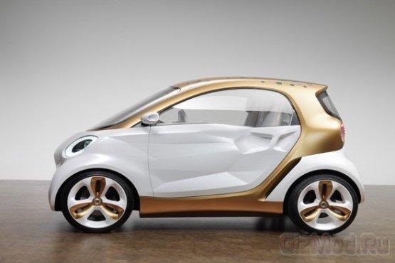 Футуристический мини-кар Smart Forvision