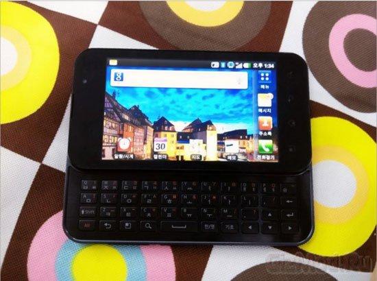 LG Optimus Note с двухъядерным процессором Tegra 2
