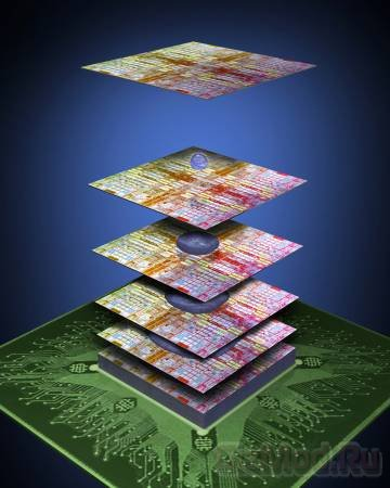 IBM запихнет до 100 слоев в одну микросхему