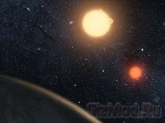 Обнаружена планетарная система из двух звезд
