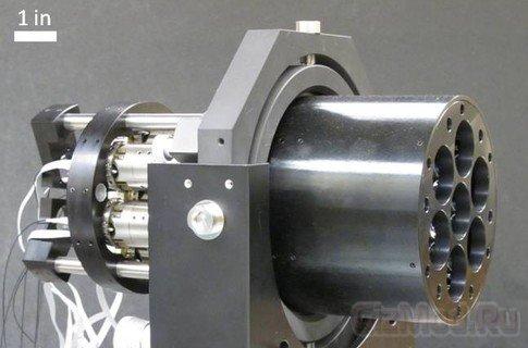 DARPA разрабатывает мобильную лазерную пушку