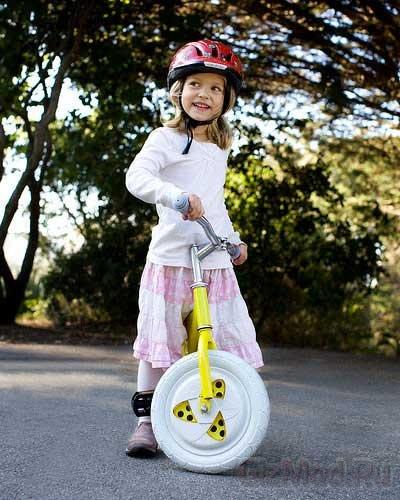 Gyrowheel поможет освоить велосипед