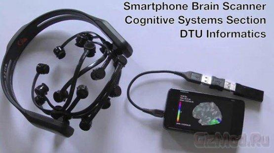 Сканирование мозга со смартфона