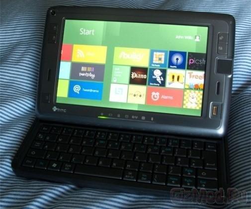 "Windows 8 ""летает"" на планшете 2007 года"