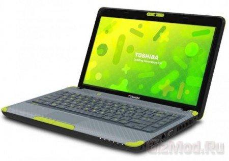 Toshiba представила ноутбук для детей Satellite L735D