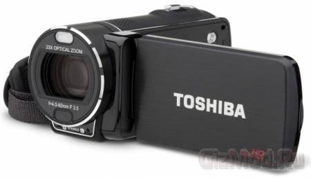 Видеокамеры Toshiba Camileo X416, X400 и X200