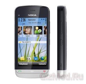 """Nokia выпустила смартфон С5 """"для бедных"""""""