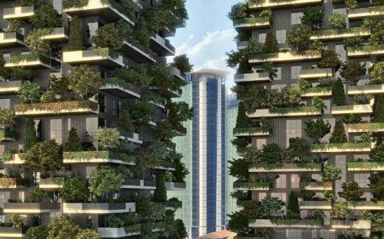 В Италии вырастет вертикальный лес