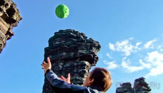 Камера-мячик снимает панорамы