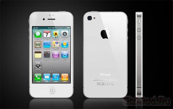 Российские продажи iPhone 4S из под полы