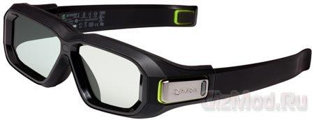 Стереоскопические очки NVIDIA 3D Vision 2