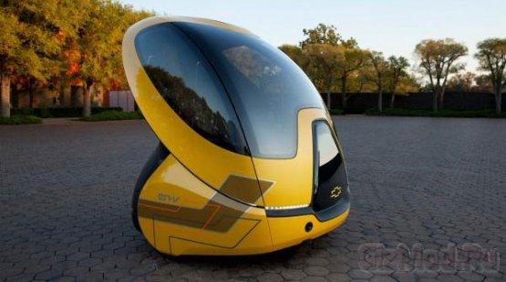 Электрокар будущего EN-V второго поколения
