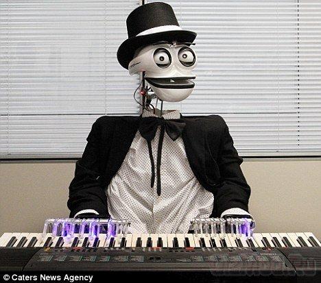 Итальянский робот-пианист Teotronicа