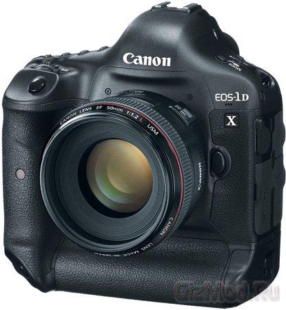 Профессиональная зеркалка Canon EOS-1D X