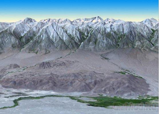 Точнейшая цифровая топографическая карта Земли