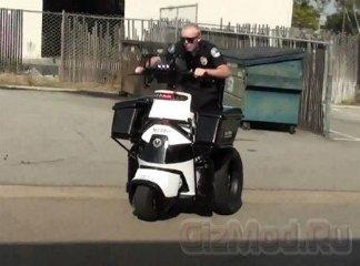 """Полицейская """"колесница"""" на страже порядка"""