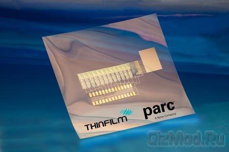 Органическая напечатанная память Thinfilm
