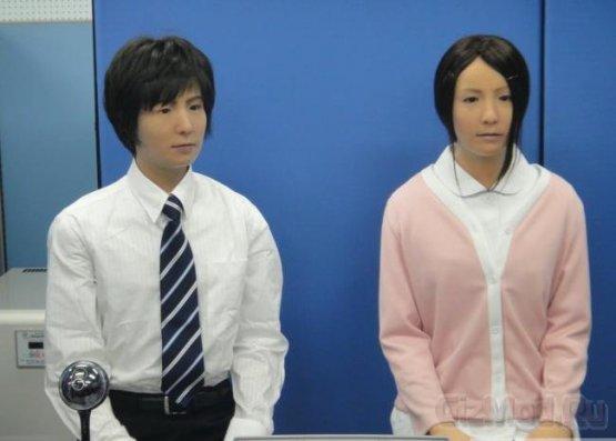 Роботу Actroid-F создали пару