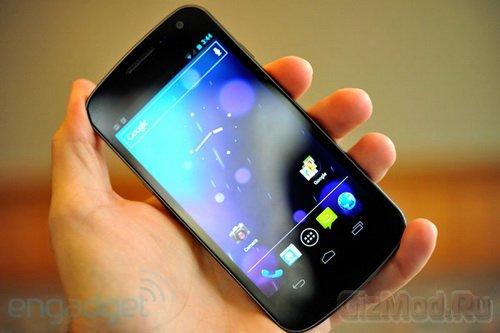 Смартфону Galaxy Nexus не повезло с дисплеем