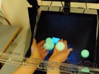 Интерактивная голограмма