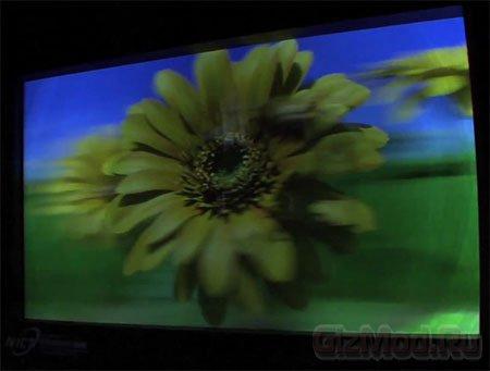 Японский 200-дюймовый 3D-дисплей не требует очков