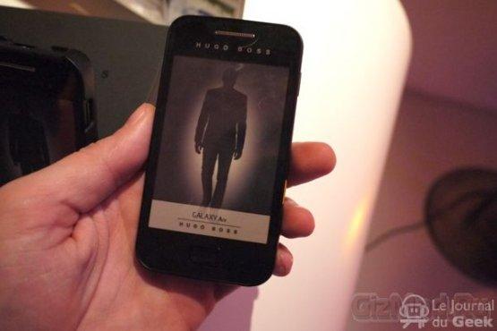 """Galaxy Ace в """"рубахе"""" от Hugo Boss"""