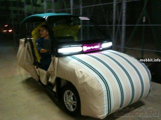 iSAVE-SC1 - безопасный электромобиль из матрасов