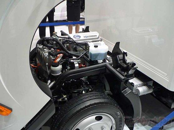 Электрогрузовик Nissan с мотором от легковушки