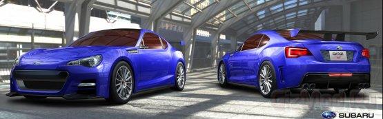 Subaru поделилась информацией о концепте BRZ STi