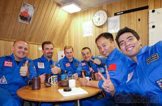 """""""Полет"""" на Марс прошел успешно"""