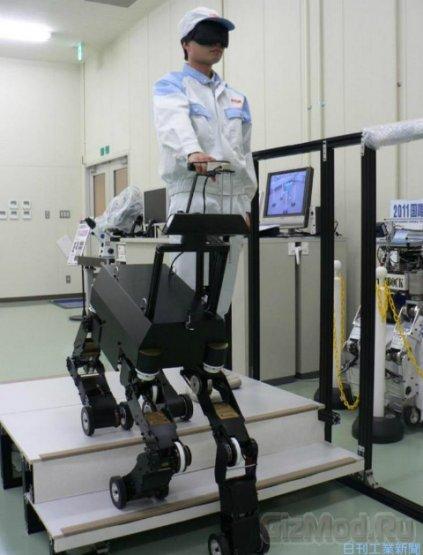 Новый робот-поводырь умеет ходить и ездить