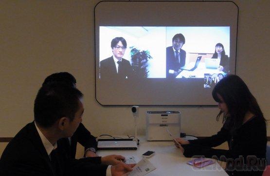Компактный короткофокусный проектор Ricoh