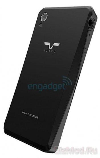Американо-чешский смартфон Verzo Kinzo