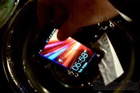 HzO делает мобильники водонепроницаемыми