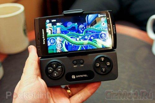 Игровой контроллер для смартфонов Gametel