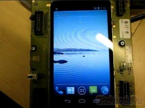 Sony Ericsson LT22i Nypon на платформе NovaThor