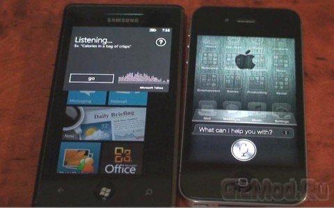 TellMe против Siri: в чем сила