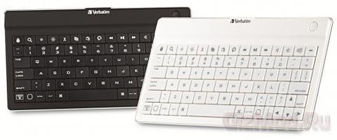 Утонченная клавиатура Verbatim для планшетов