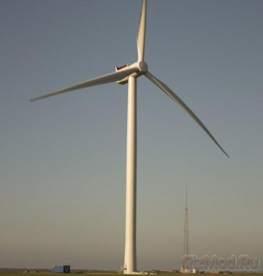 Гиганские ветряки Siemens