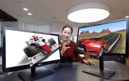 Мониторы LG DX2500: 3D без очков