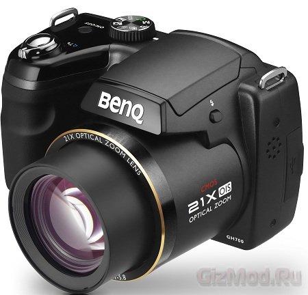 Суперзум GH700 за 240 евро от BenQ