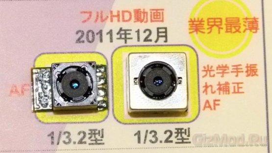 Потрясающая стабилизация 5,5-мм камеры Sharp