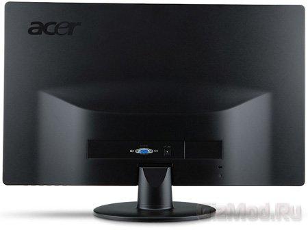 Монитор Acer S235HLBii в нестандартном исполнении
