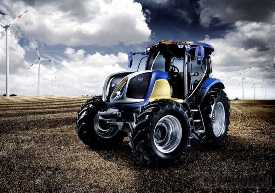 Первый трактор на топливных элементах